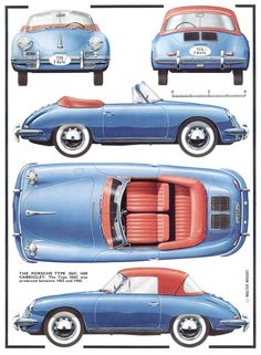 Vintage Porsche 356 Sports Cars For Sale Today You Can Get Great Prices On…