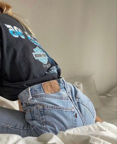 Mode Outfits, Jean Outfits, 90s Fashion, Fashion Outfits, Womens Fashion, Jeans Fashion, Girl Fashion, Cute Casual Outfits, Summer Outfits
