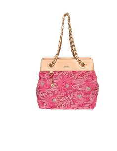 Unleash your inner lady with this brazenly feminine Paddi bag by Bally