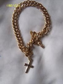 on sale monet bracelet with cross free shipping low price $8.99