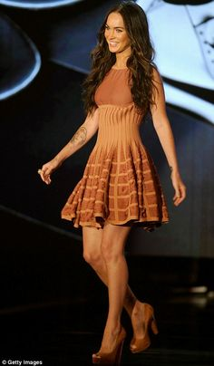 Azzedine Alaia (on Megan Fox) - say about the woman what you will but the dress is fab!