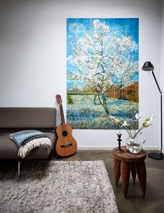 IXXI wall decoration made with Van Gogh's painting 'the Peachtree'. The price of this example is $186.85. #ixxi #ixxidesign