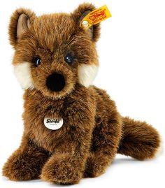 Steiff Plüsch Baby-Fuchs Fuxy 18 cm braun sitzend 070136 bei Papiton bestellen.