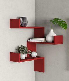 Hashtag Home Wandregal Home Decor Shelves, Home Decor Furniture, Furniture Projects, Diy Home Decor, Room Decor, Luxury Furniture, Corner Shelf Design, Bookshelf Design, Wall Shelves Design