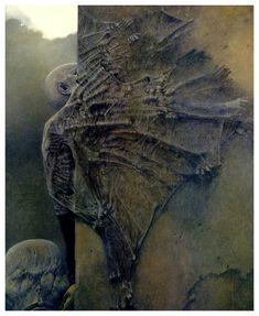 Zdzisław Beksinski surrealismo gotico 16