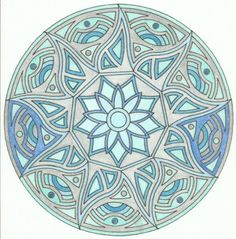 mandala rond 7 mandala colorier