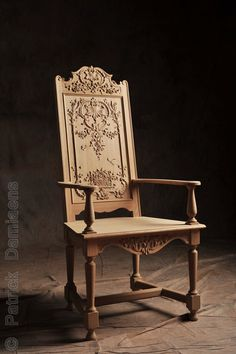Hand-carved and custom-made | liège style furniture. Reproduction of period European style classical replica. | Traditional Fine woodcarving  http://www.patrickdamiaens.be