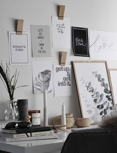 Inspiring career chat with the founder of super successful Olive et Oriel - a wall art brand with enviable art prints and posters Girl With Green Eyes, Career Inspiration, Typography Letters, Lettering, Blank Walls, All Wall, Career Advice, Beautiful Interiors, Photographic Prints