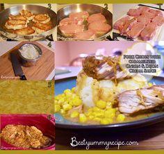 Pork Chops with Carmalized Onions and a Creamy Dijon Sauce