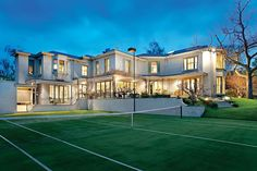 Established landscaped gardens boasting a north-south tennis court and pool, this is an impressive architect designed residence