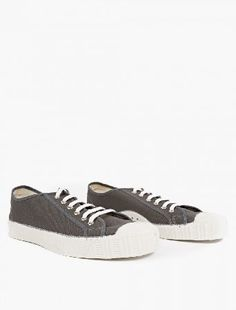 Spalwart Coal Canvas Special Low Sneakers The Spalwart Coal Canvas Special Low Sneakers for AW16, seen here in coal. - - - - These understated sneakers from Spalwart are crafted to impeccable standards from premium cotton canvas. They are fin http://www.MightGet.com/january-2017-13/spalwart-coal-canvas-special-low-sneakers.asp