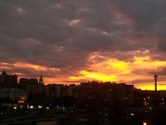 #sunset in #moscow
