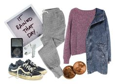 """""""SWEATPANTS"""" by danielsalvaterrafonseca ❤ liked on Polyvore featuring V::ROOM and French Connection"""
