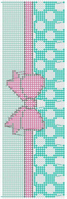 Alpha Friendship Bracelet Pattern #11171 - BraceletBook.com