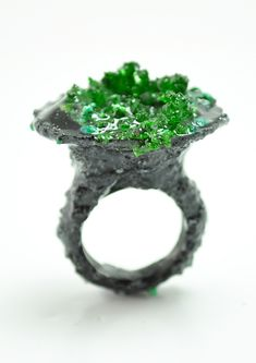 Mixed Media Rings on Behance