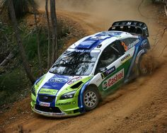 ford focus wrc car