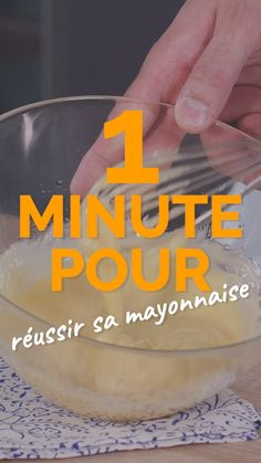 1 minute to make your mayonnaise - - Sprout Recipes, Easy Salads, Healthy Salad Recipes, Baked Asparagus, Asparagus Recipe, Parmesan Asparagus, Baked Garlic, Cooking Videos Tasty, Cooking Tips