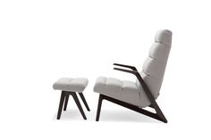Rolf Benz 580 Armchair and Small Ottoman.  Available in 2 back heights.