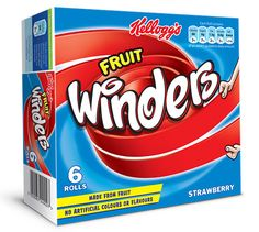 Kellogg's Fruit Winders - Strawberry 6 x Festival Shop, Beer Festival, Pukka Pies, Food For Memory, Starburst Candy, British Sweets, School Snacks, Cheap Meals