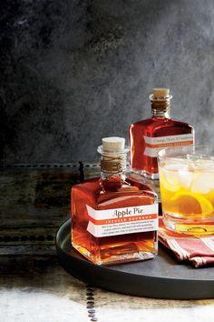 5-Ingredient Drink Recipes: Apple-Pie Infused Bourbon