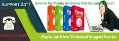 If you do not know How to Fix Panda Antivirus Not Scanning Issue call us 1-844-313-8282 for online help or read this blog to get the hint to fix such issues. A step-by-step process is explained by the experts to fix the scanning problem with nonstop online tech support to fix Panda Antivirus issues.