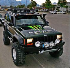 Monster Cherokee Jeep