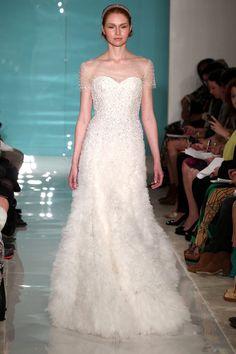 Un vestido de novia de ensueño.   #ReemAcraBridal   #PrimaveraVerano2013 #Novias #VestidosDeNovias #TheWeddingFilmCompany
