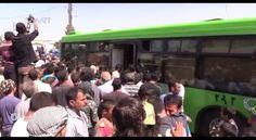 تعرف كيف استحالت صور المدن الثائرة بعد تدميرها وتهجير أهلها بالباصات الخضراء.. تقرير: ناصر عدنان - Naser Adnan #أورينت #سوريا