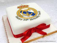 Resultado de imagen para real madrid cake