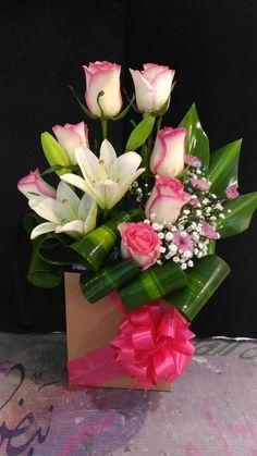 Designer Choice at Oceana Florists. Your local flower shop. Valentine's Day Flower Arrangements, Contemporary Flower Arrangements, Flower Arrangement Designs, Valentines Flowers, Funeral Flowers, Wedding Flowers, Arte Floral, Flower Boxes, Floral Bouquets