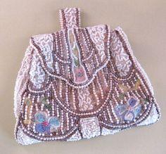 1930's Beaded Bag Purse