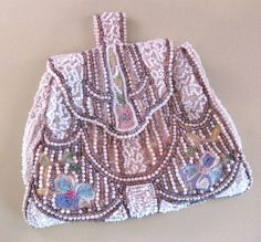 1930's Beaded Bag Purse