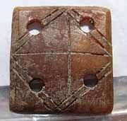 The earliest weaving tablets ever found date from the Early Iron Age and were made from wood and bone.