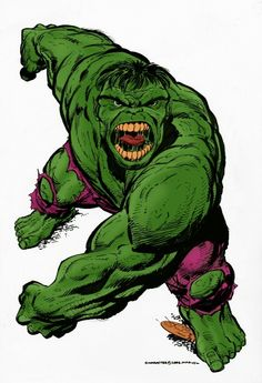 Hulk by John Byrne & Gerry Turnbull