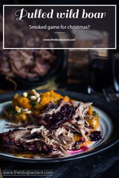 Pimp your holiday meals with this delicious pulled wild boar recipe! Combined with a delicious port and berries based sauce you're ready for celebrating all