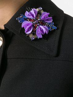 Купить Emilio Pucci пиджак с цветчной аппликацией .
