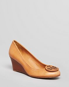 Tory Burch Wedge Pumps - Sally Closed Toe | Bloomingdale's - Get 20% off through 11/17 with code BFAM or FRIENDS