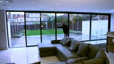 Enjoy the bright life with Express sliding doors - YouTube