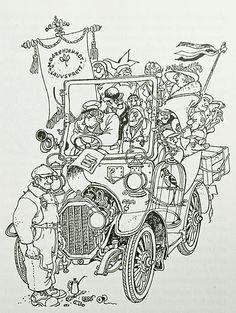 Bokillustrasjon.no: Kjell Aukrust Line Illustration, Illustrations, Drawing Art, Art Drawings, Black And White Drawing, Beautiful Words, Zentangle, Embroidery Patterns, Character Design