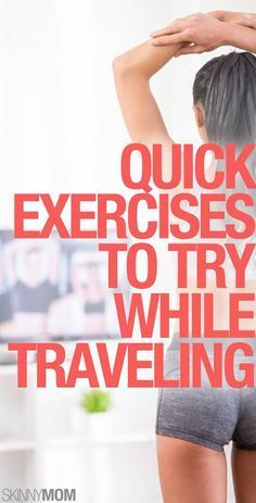 These workouts are perfect for vacations!