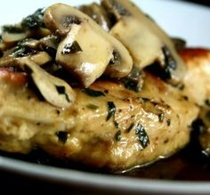 """Skillet Chicken Marsala: """"This recipe is wonderful. It's easy, quick and flavorful."""" -Hanka"""
