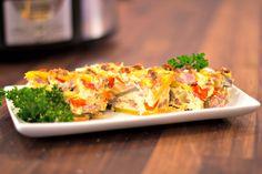 Slow Cooker Breakfast Casserole with Fresh Potatoes