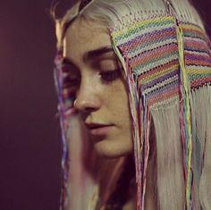 Festival hair inspiration - Hair Tapestry by Weave Hairstyles, Cool Hairstyles, Medium Hairstyles, Wedding Hairstyles, Phoenix Hair, Natural Hair Styles, Short Hair Styles, Avant Garde Hair, Festival Hair