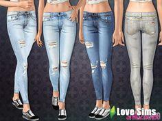Рваные джинсы от Sims2fanbg