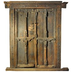 Set of Swat Valley Doors   From a unique collection of antique and modern doors and gates at https://www.1stdibs.com/furniture/building-garden/doors-gates/