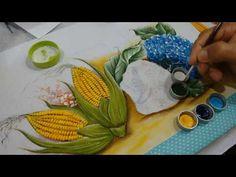 Como Pintar Rosas Brancas / Pintura em Tecido - YouTube