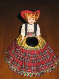 2 Blue Bonnet Margarine Plastic Vintage  Dolls