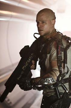 Still of Matt Damon in Elysium