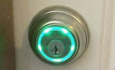 Kwikset Kevo: Using your iPhone to lock and unlock doors - the lock glows when you touch it and it opens if you have your iPhone with you.   Very nice Security for the home or small office