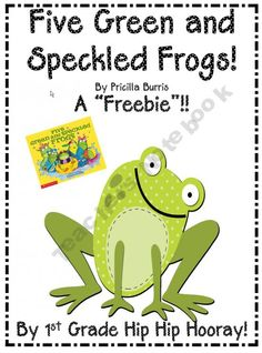 Priscilla Burris has retold and illustrated a darling book to the tune of Five Green And Speckled Frogs. Your class will love singing along using the frog characters and finishing it off with some cupcake toppers.